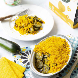 recette crumble courgettes galettes